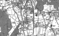 Old Map of Cowley, 1913