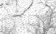 Old Map of Craig-y-llyn, 1887 - 1900