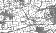 Old Map of Cranmore, 1884