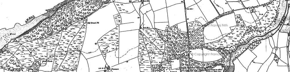 Old map of Lee Copse in 1896