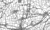 Old Map of Creech Heathfield, 1886 - 1887