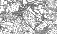 Old Map of Cresswell Quay, 1906