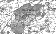Old Map of Cricket St Thomas, 1886 - 1901