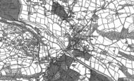 Old Map of Crickhowell, 1885 - 1903