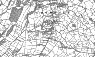 Old Map of Cromhall Common, 1879 - 1881