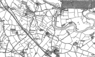 Old Map of Cronkhill, 1881