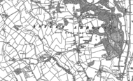 Old Map of Cross Lane Head, 1882 - 1901