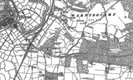 Old Map of Crossbush, 1875 - 1896