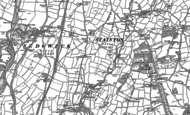 Old Map of Crosscrake, 1896 - 1897