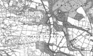 Old Map of Crosswood, 1886 - 1904