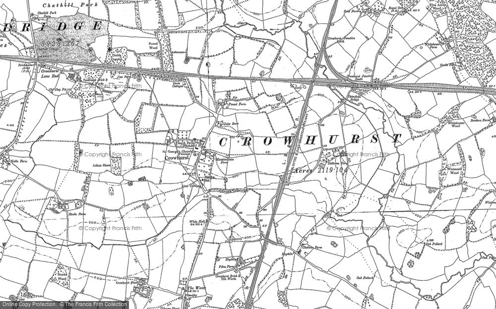 Crowhurst, 1895 - 1910