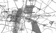 Old Map of Crowmarsh Gifford, 1910