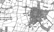 Map of Croxton, 1900