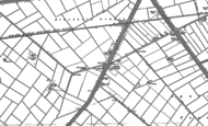 Old Map of Cuckoo Br, 1886 - 1887