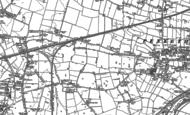 Old Map of Cuerdley Cross, 1894 - 1905