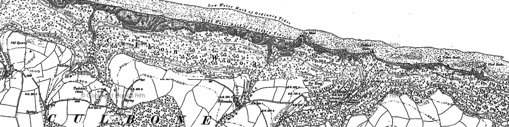 Old map of Yellow Stone in 1902