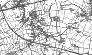 Old Map of Culcheth, 1892 - 1906