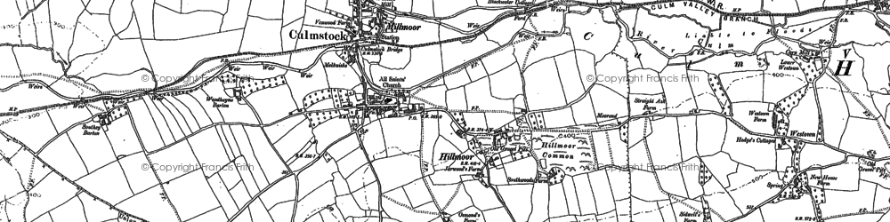 Old map of Westown in 1887