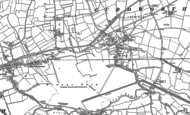 Old Map of Curdworth, 1886