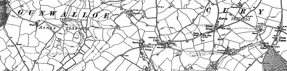 Old map of Nantithet in 1906