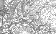 Old Map of Cwm-Cewydd, 1900