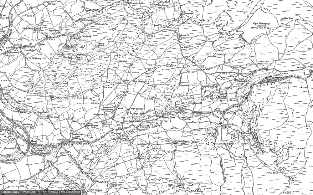 Cwm Cynfal, 1887 - 1888
