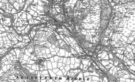 Old Map of Cwmfelin, 1897