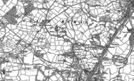 Old Map of Cwmrhydyceirw, 1897