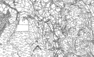 Old Map of Dale Bottom, 1898
