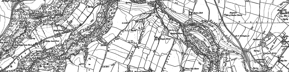 Old map of Dalehouse in 1913