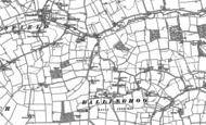 Old Map of Dallinghoo, 1881 - 1883