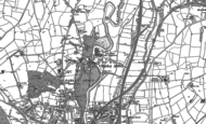 Old Map of Darley Abbey, 1881 - 1882