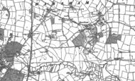 Old Map of Darsham, 1883