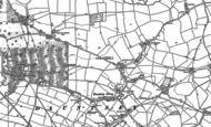 Old Map of Dauntsey, 1899