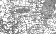 Old Map of Deerfold, 1902