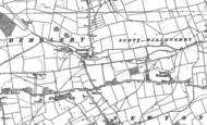 Old Map of Dembleby, 1887