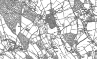 Old Map of Denner Hill, 1897