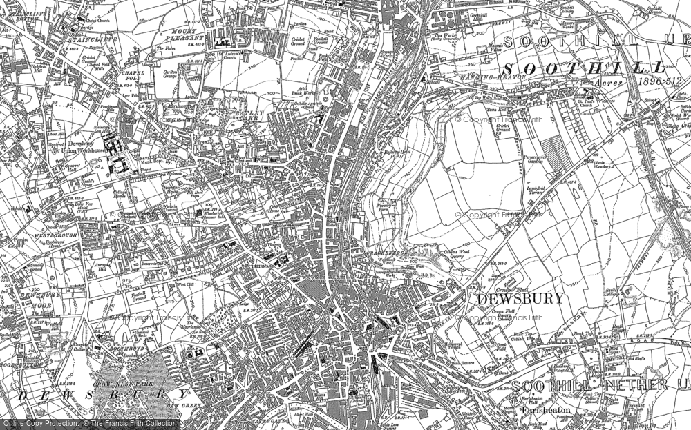 Old Maps of Dewsbury Francis Frith