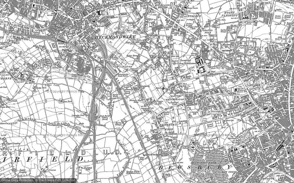 Old Maps of Dewsbury Moor Francis Frith