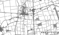 Old Map of Digby, 1887