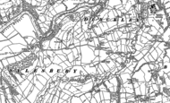 Old Map of Dinckley, 1892