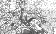 Old Map of Dirt Pot, 1895
