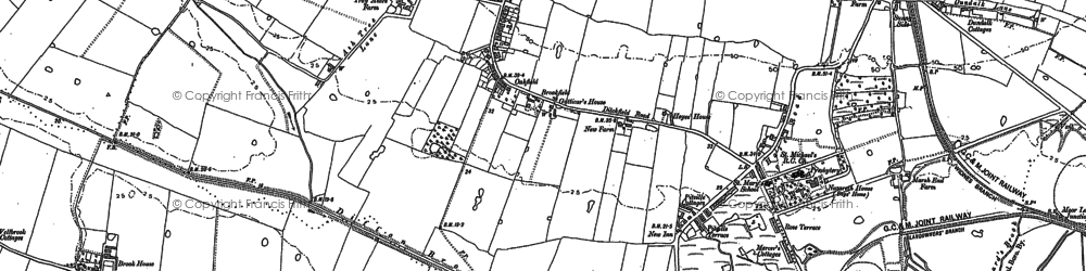 Old map of Ball o' Ditton in 1894