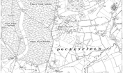 Old Map of Dockenfield, 1909