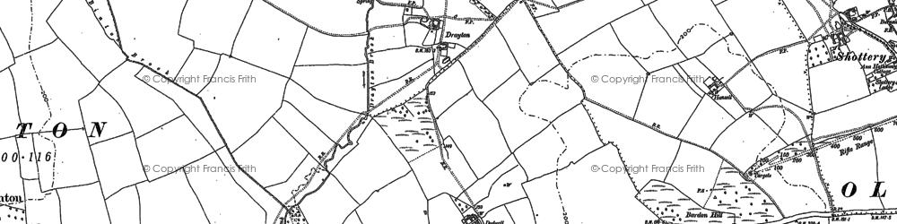 Old map of Wildmoor, The in 1883