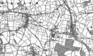 Old Map of Doe Lea, 1897