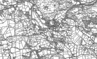 Old Map of Dolanog, 1885