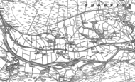 Old Map of Donkleywood, 1895 - 1896