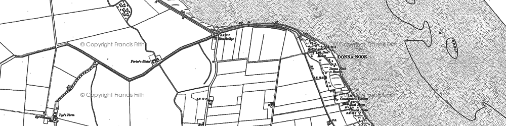 Old map of Laramie in 1899
