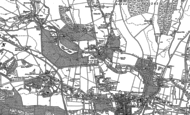 Old Map of Donnington, 1898